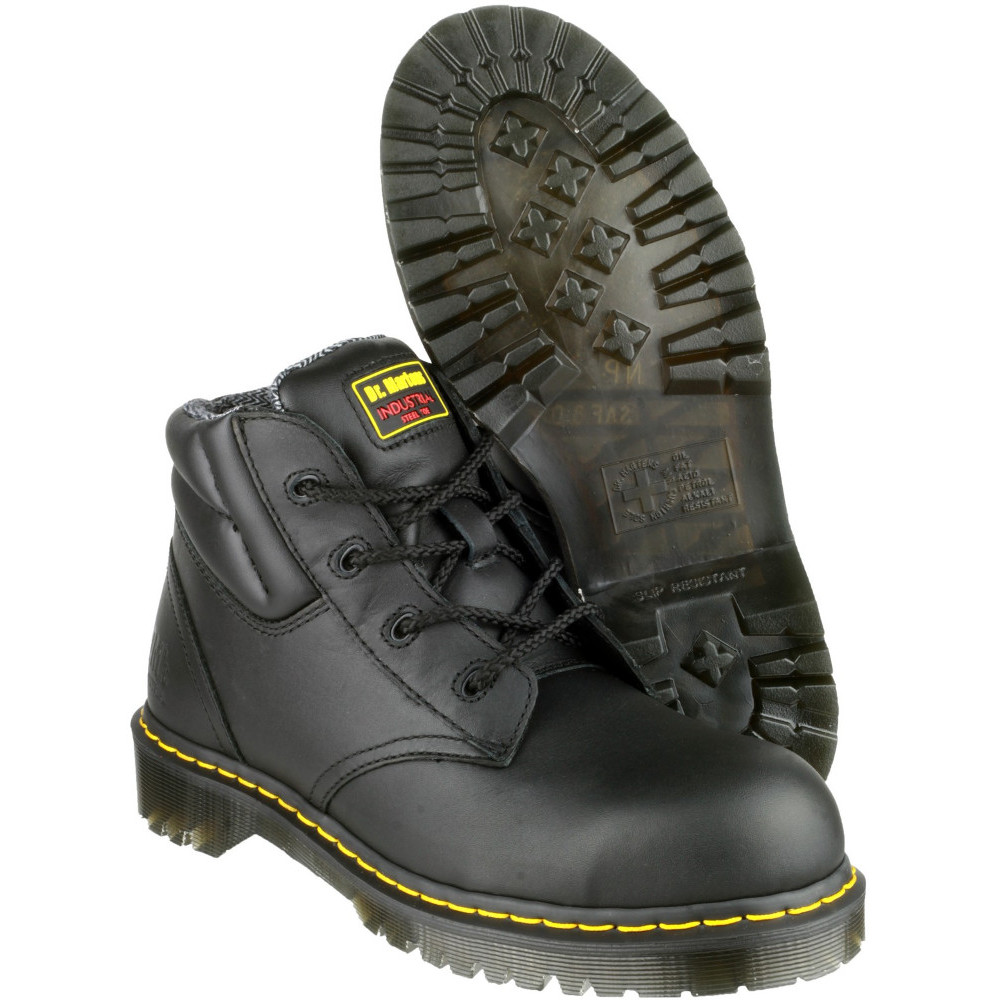 Dr Martens Mens   Womens FS20Z LaceUp Steel Toe SB-E-SRA Safety Boots 713098ad53