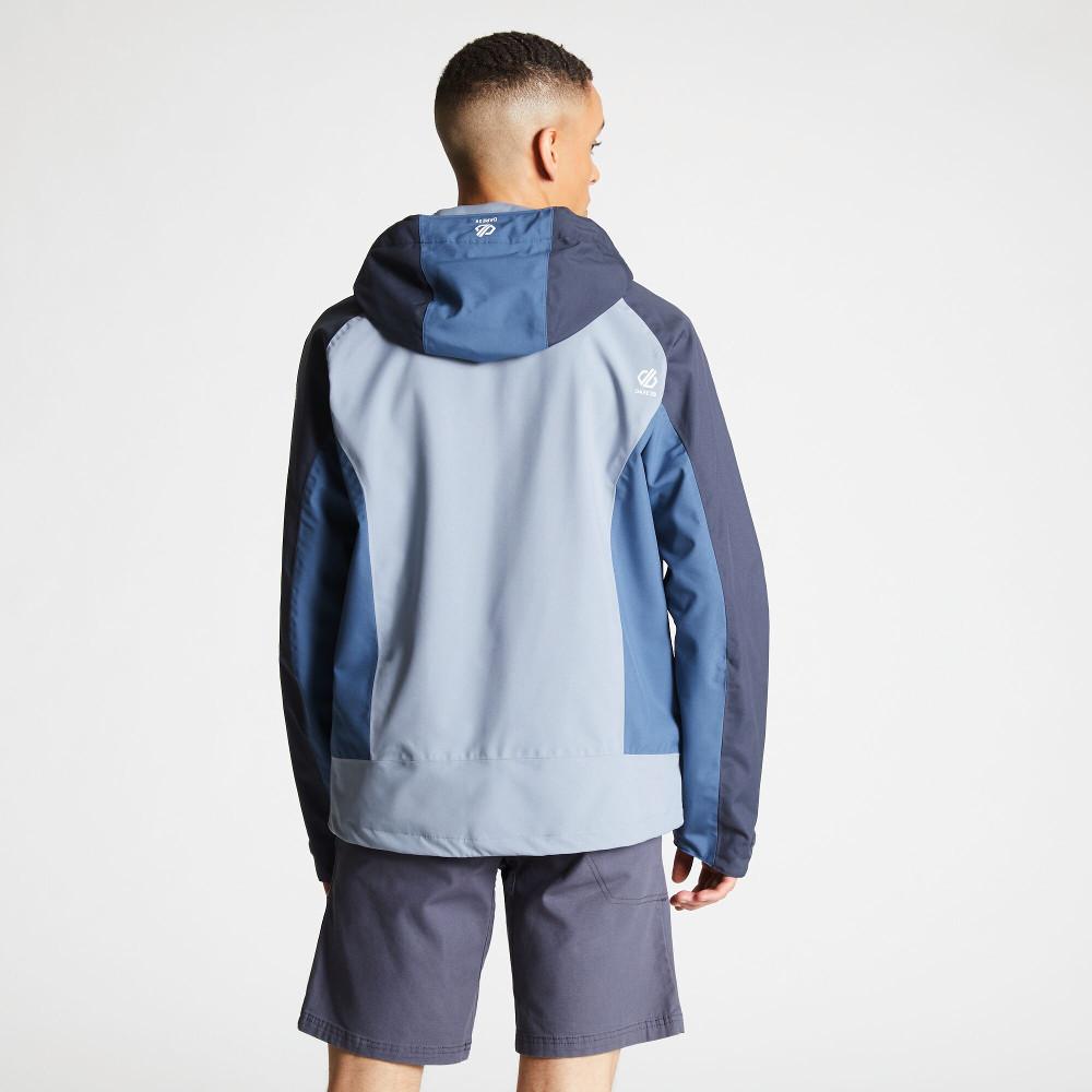 Dare-2b-Mens-Recode-Waterproof-Breathable-Hooded-Jacket miniatuur 2