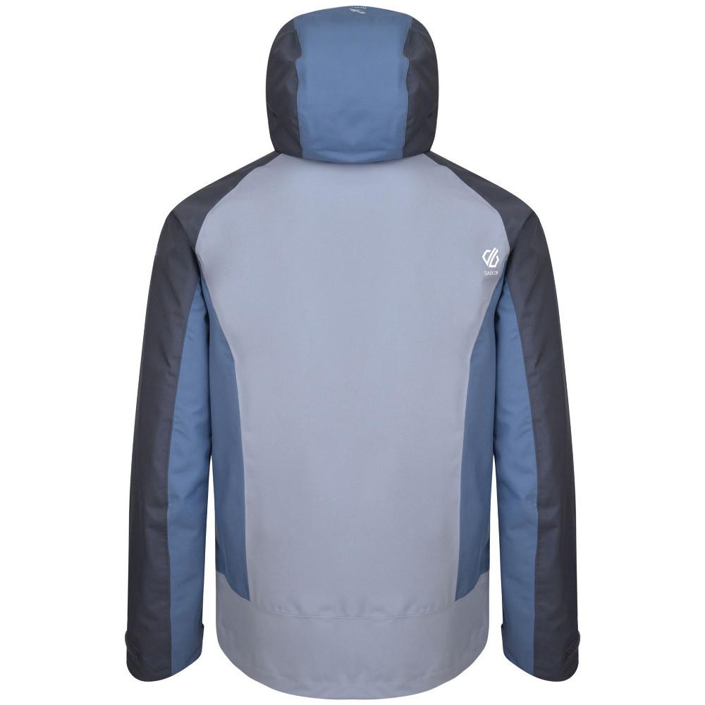 Dare-2b-Mens-Recode-Waterproof-Breathable-Hooded-Jacket miniatuur 4