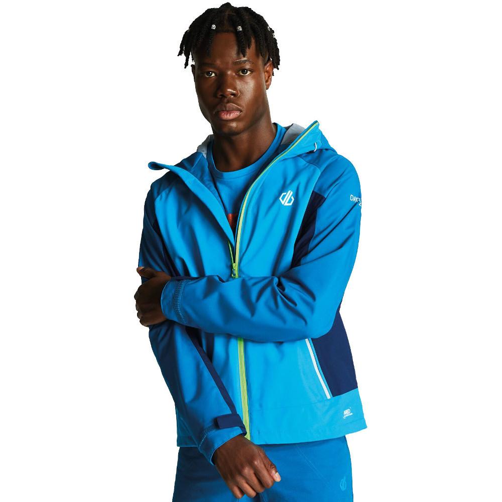 Dare-2b-Mens-Recode-Waterproof-Breathable-Hooded-Jacket miniatuur 5