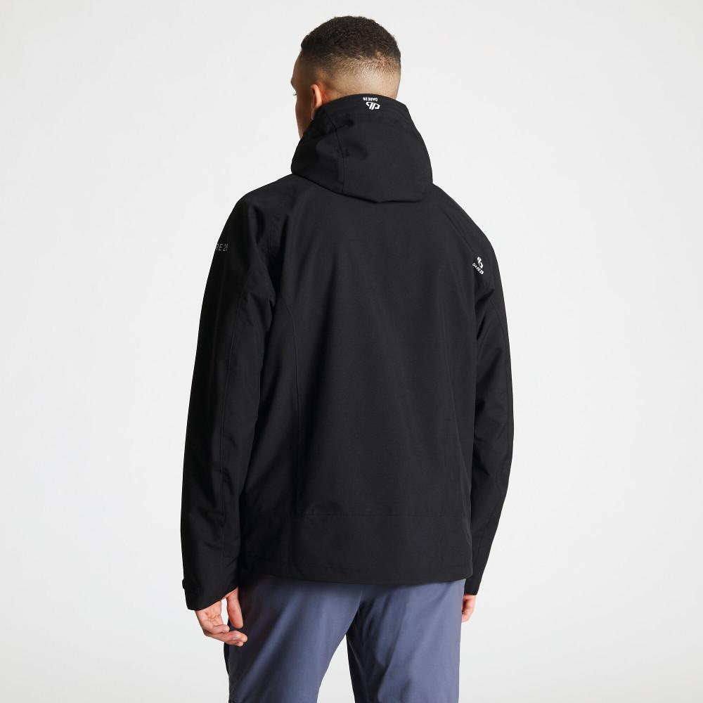 Dare-2b-Mens-Recode-Waterproof-Breathable-Hooded-Jacket miniatuur 14