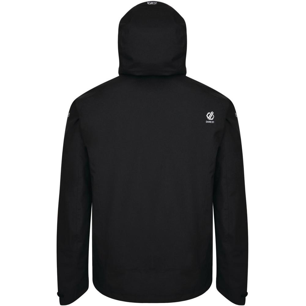 Dare-2b-Mens-Recode-Waterproof-Breathable-Hooded-Jacket miniatuur 16