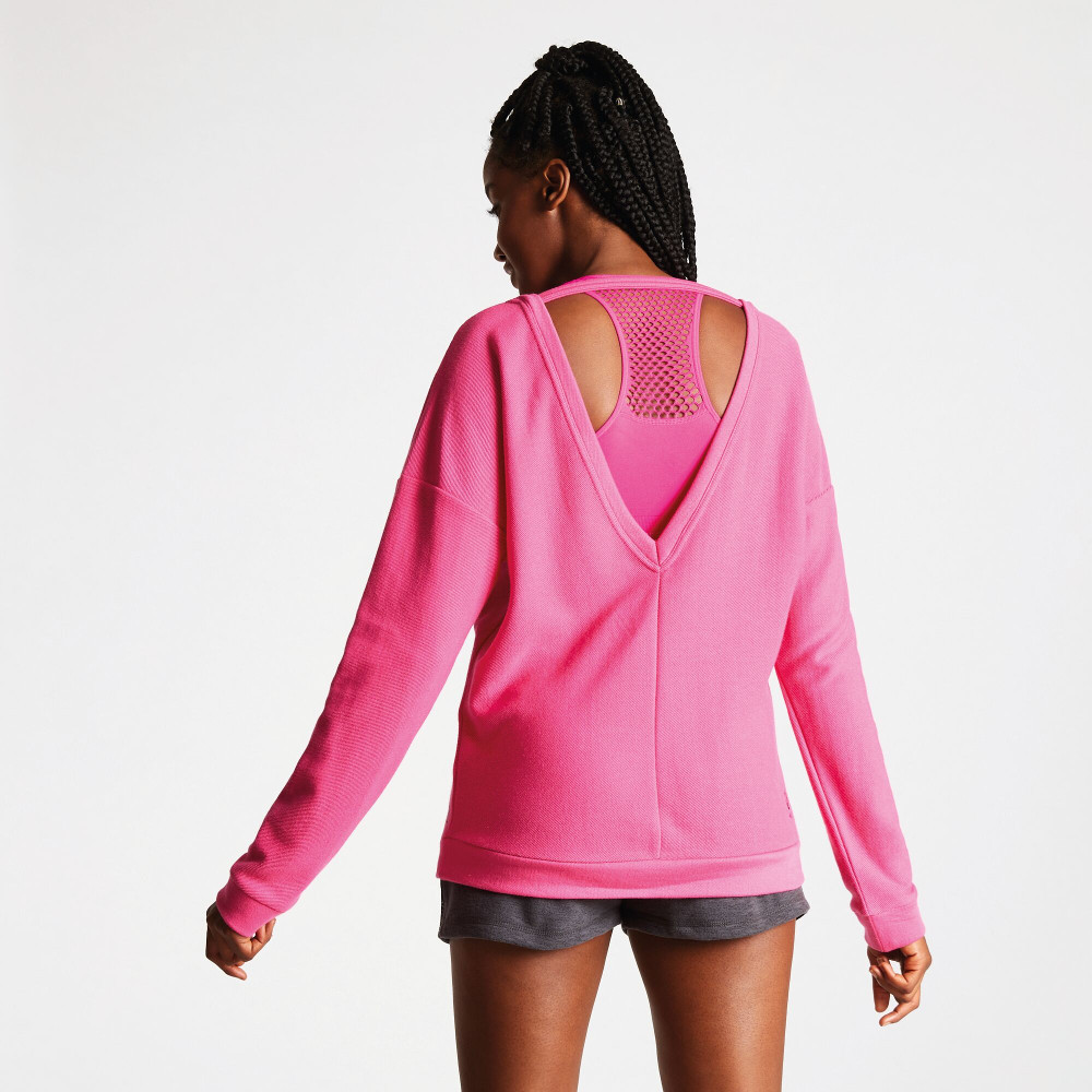 Dare 2b Womens Resilience Cut Out Back Cotton Sweater