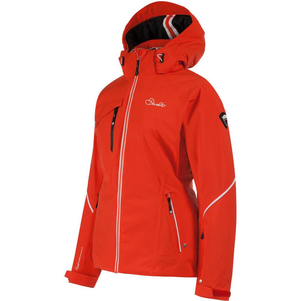 Dare 2b Womens Ladies Etched Lines Waterproof Breathable Ski Jacket ... 6c04f41505dc