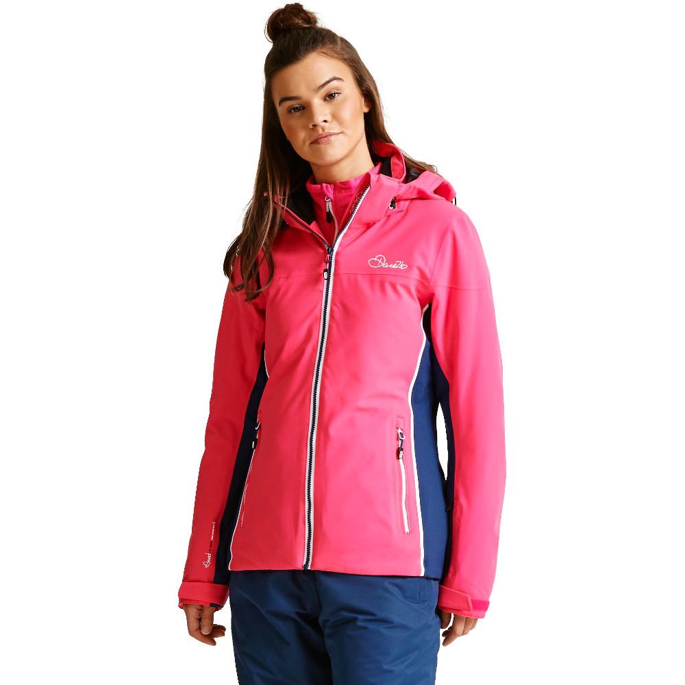 49e79fe04a Dare 2b Womens ladies Invoke II Waterproof Insulated Ski Jacket 20 ...