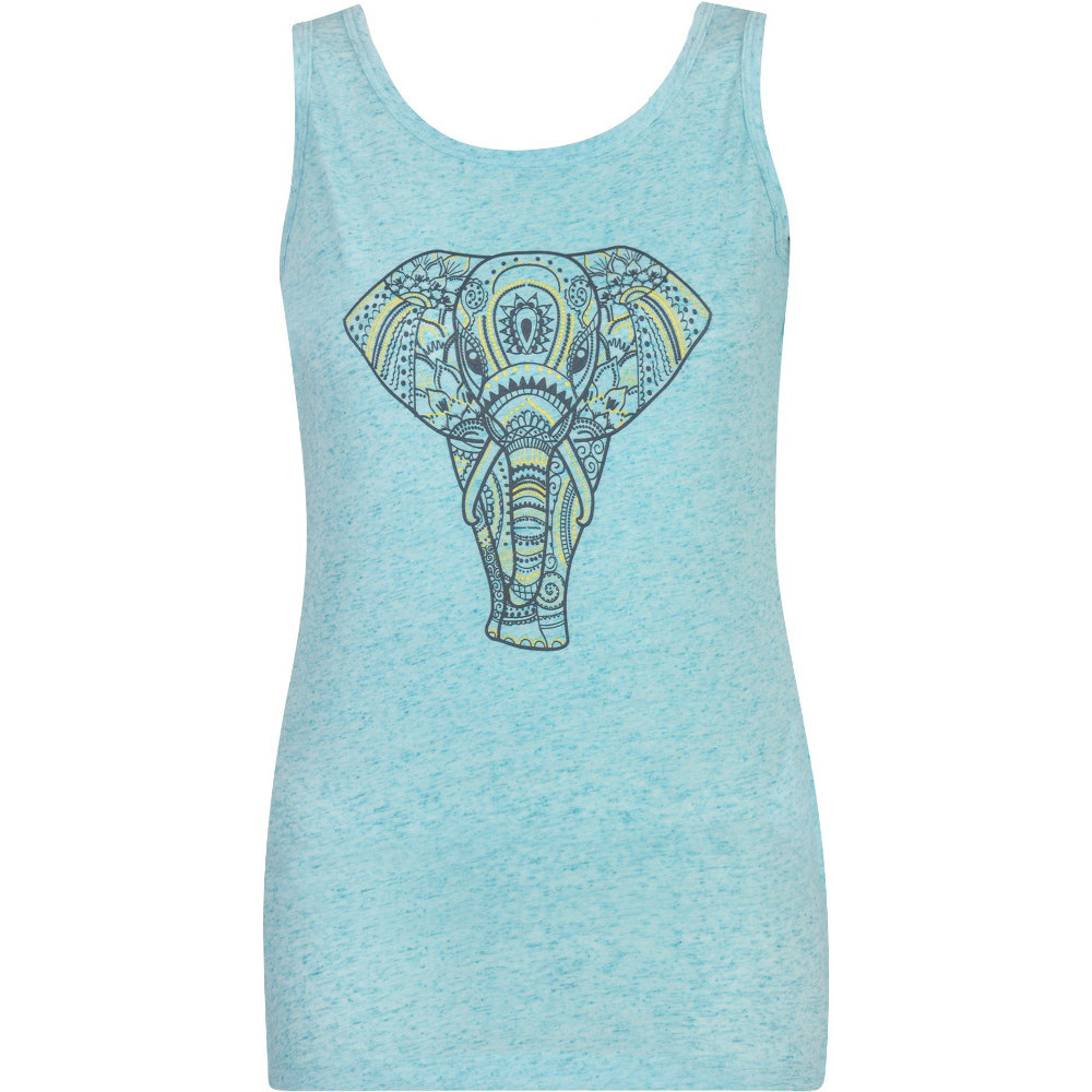 Dare 2b Womens Elephant Graphic Print Polyester Vest Top