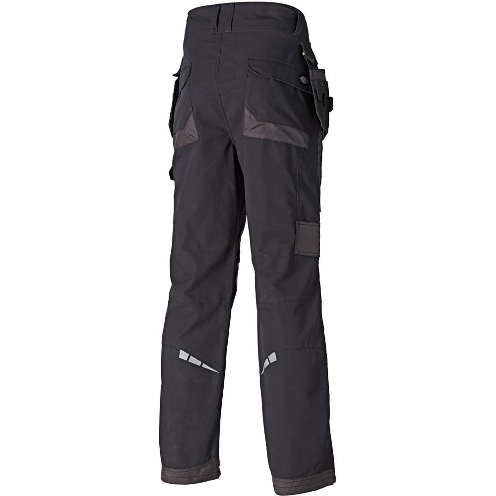 Dickies Hombre Eisenhower Premium Workwear Cargo Pantalones Negro EH34000