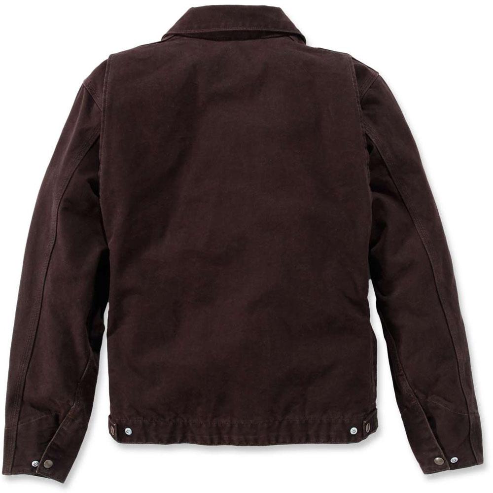 fe1f2b2b750dd Carhartt Mens Lightweight Detroit Adjustable Duck Shell Jacket Coat ...