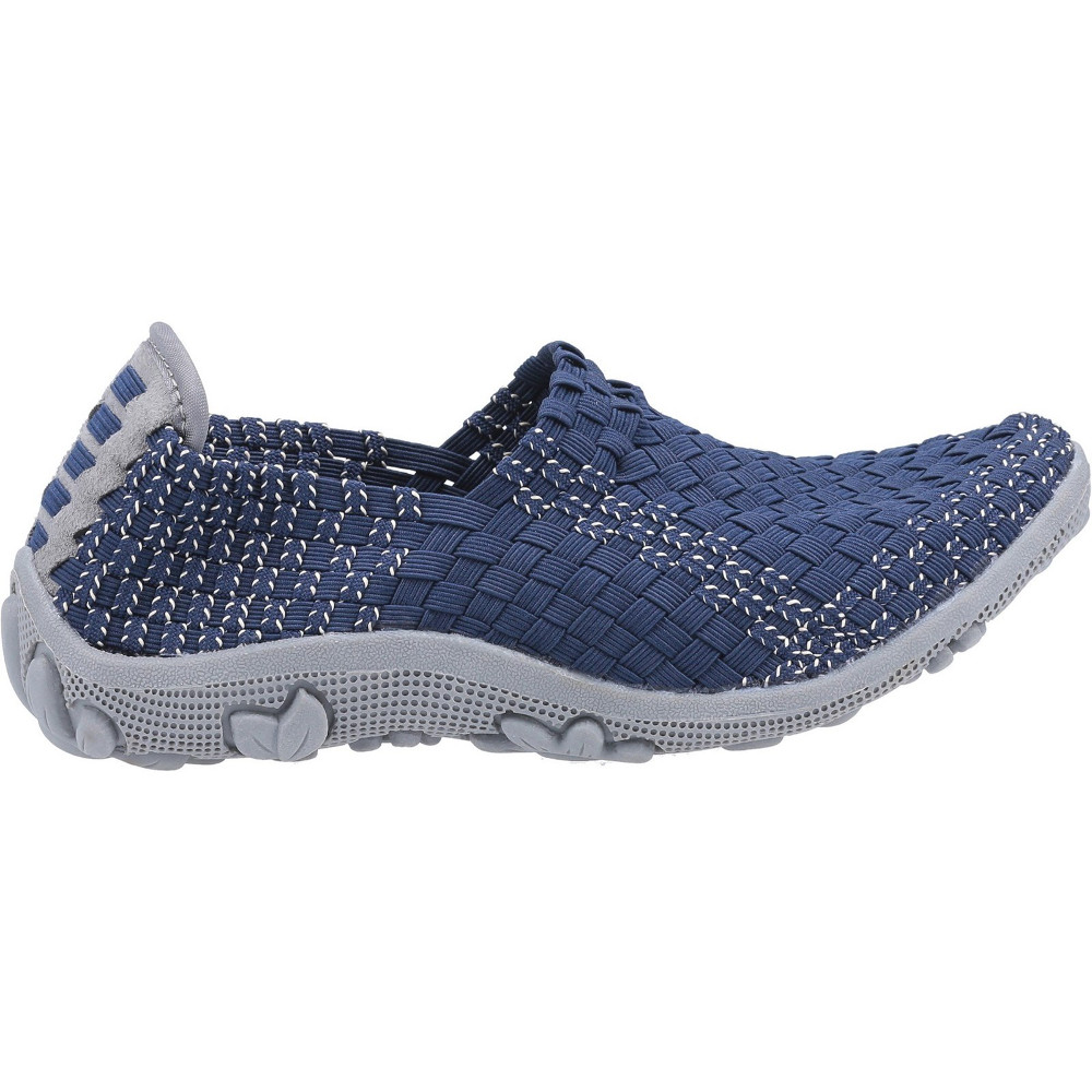 Fleet /& Foster Womens Freida Slip On Woven Summer Shoes