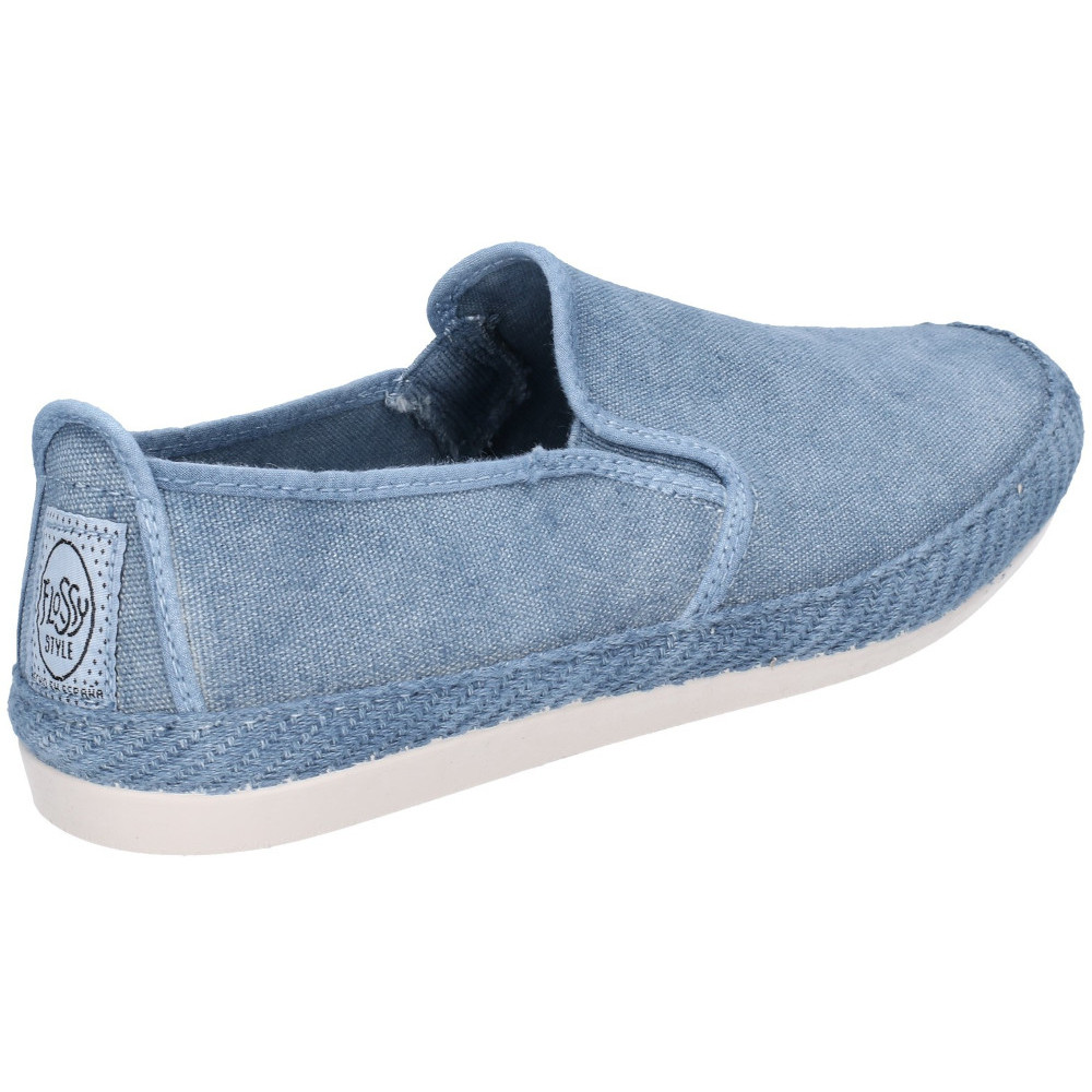 Flossy-Mens-Manso-Slip-On-Canvas-Casual-Summer-Pump-Shoes thumbnail 2