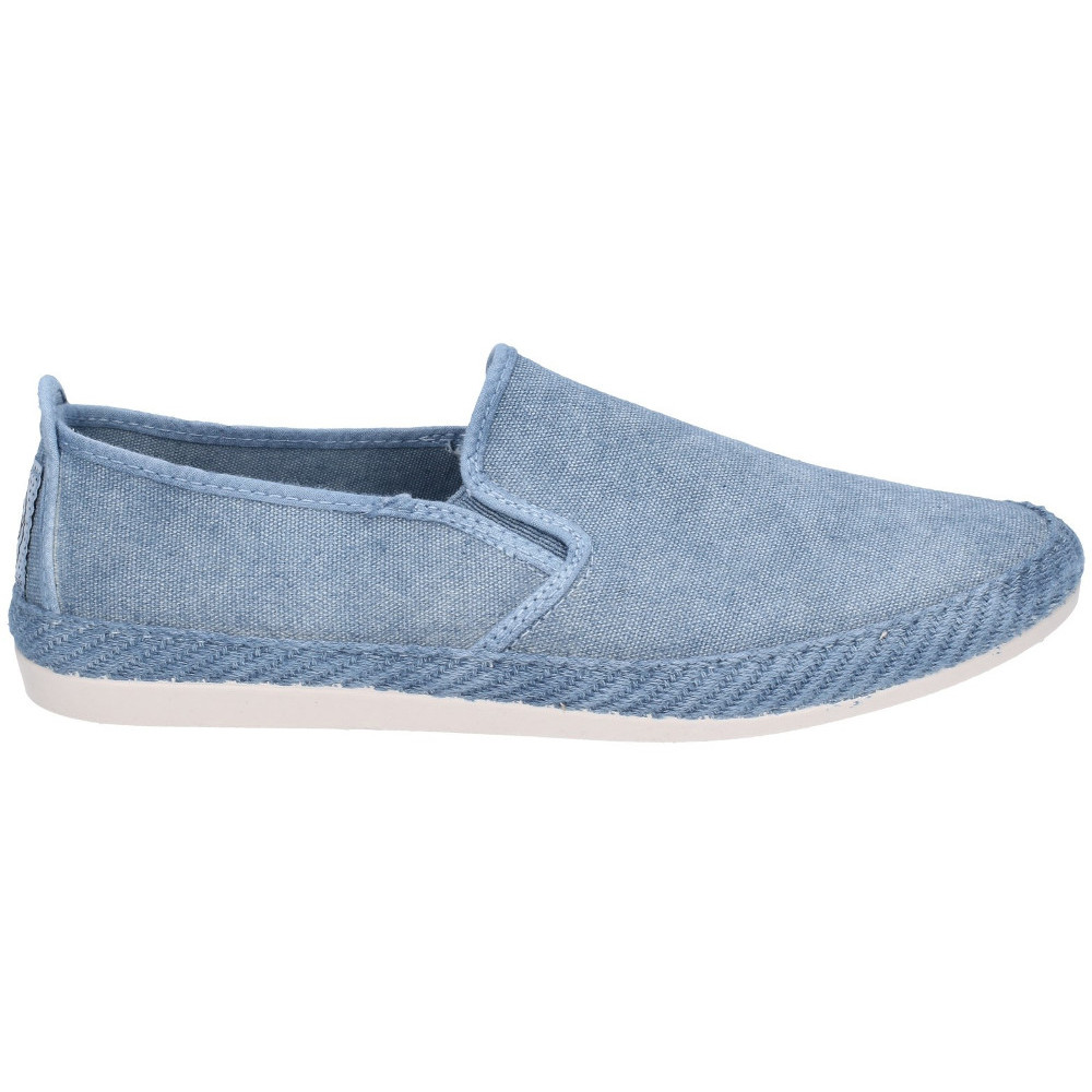 Flossy-Mens-Manso-Slip-On-Canvas-Casual-Summer-Pump-Shoes thumbnail 3