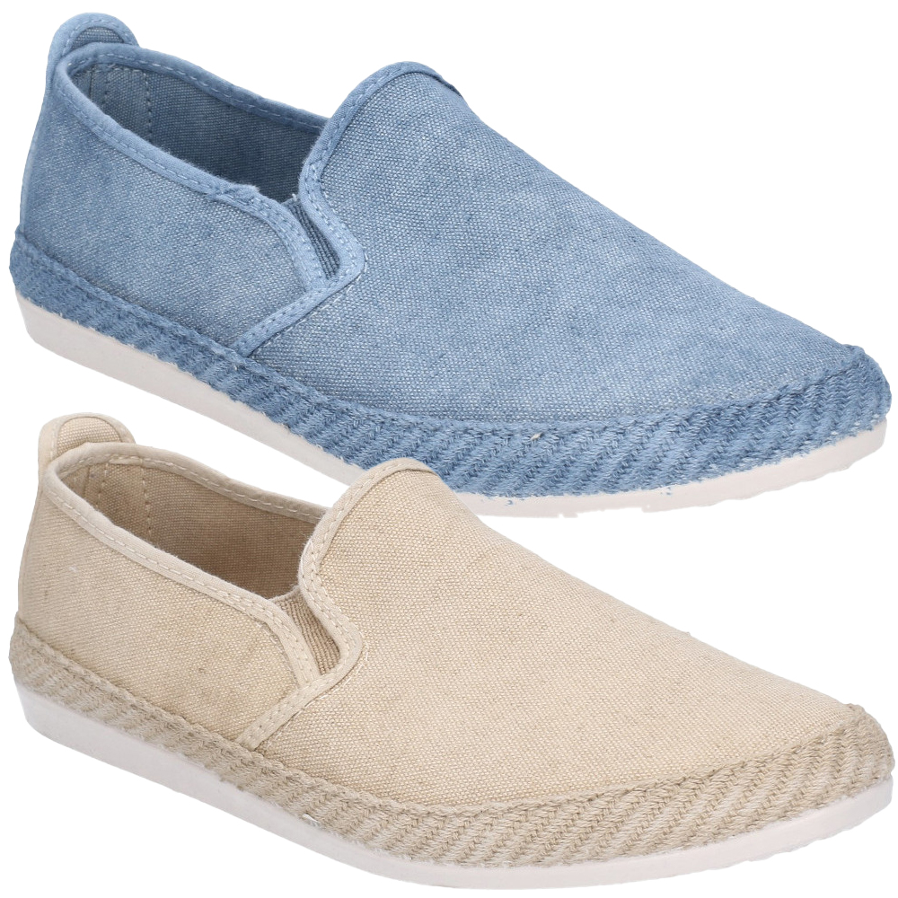 Flossy-Mens-Manso-Slip-On-Canvas-Casual-Summer-Pump-Shoes