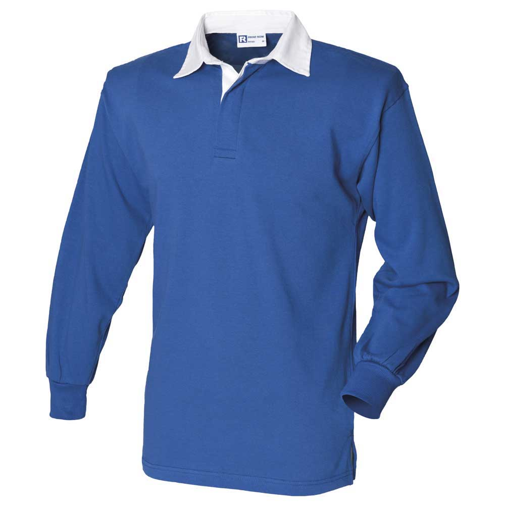 bf629ac6ff6 Front Row Long Sleeve Classic Rugby Shirt 5055549050813   eBay