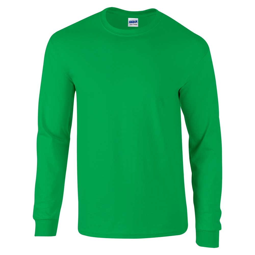 Gildan Mens Long Sleeve Ultra Soft Style Cotton T Shirt Ebay