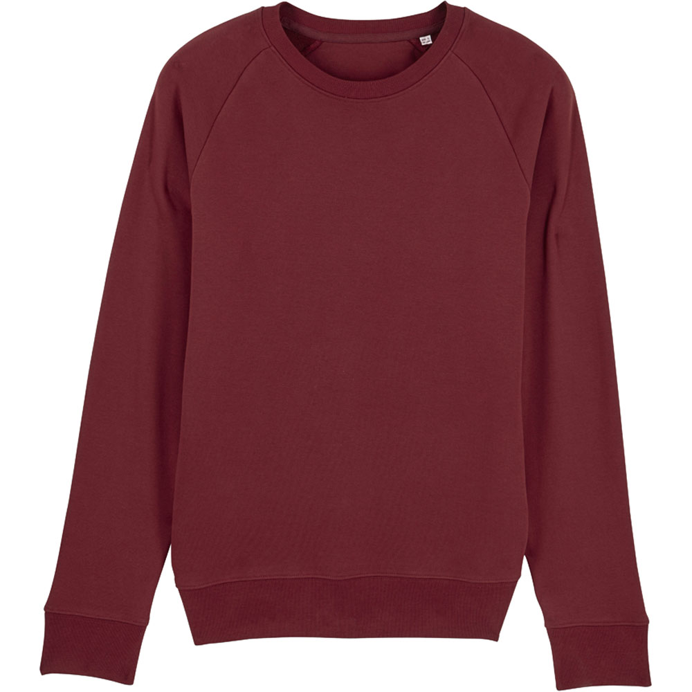 greenT Mens Organic Stroller Iconic Raglan Sleeve Sweatshirt