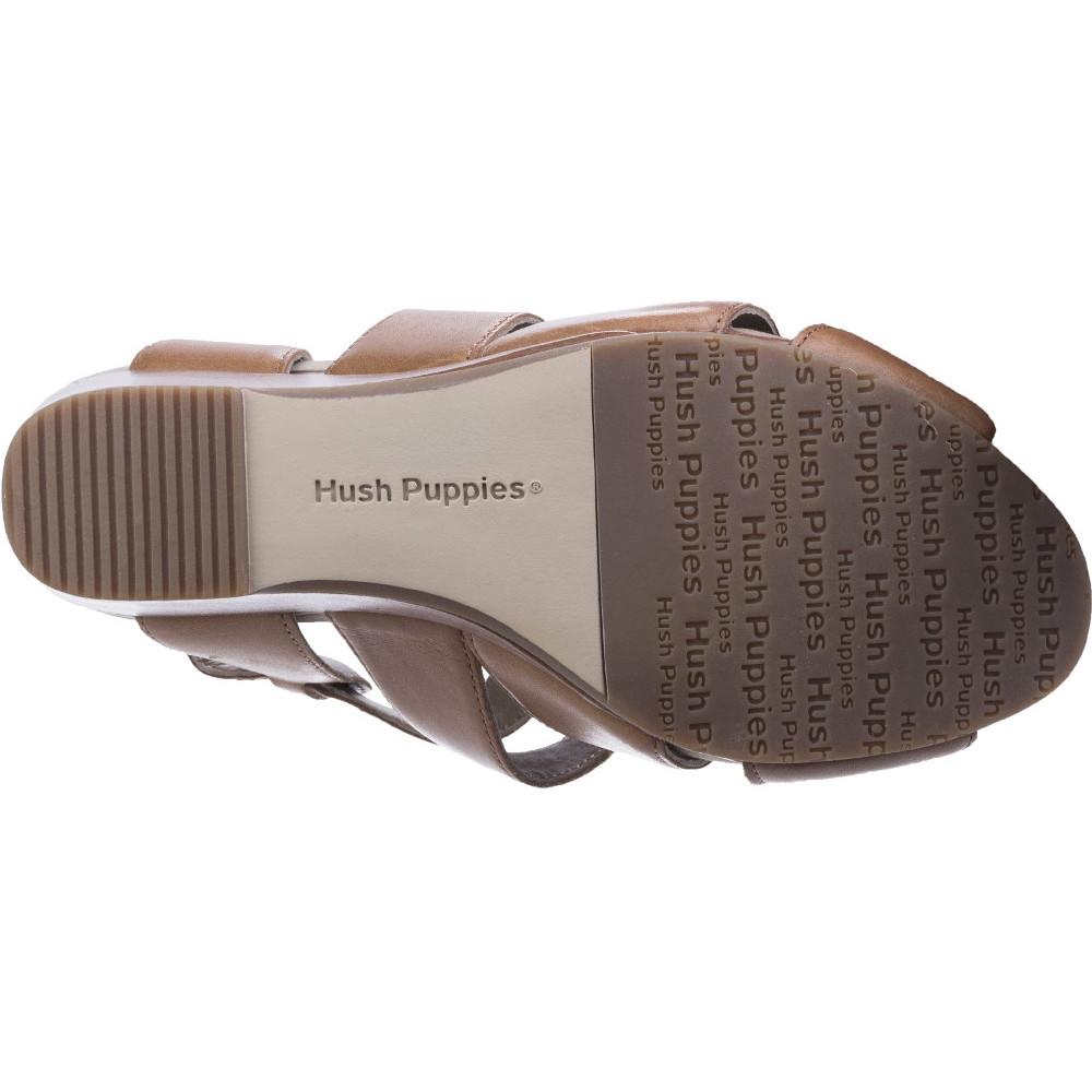 Hush-Puppies-Womens-Ladies-Fintan-Montie-Buckle-Wedge-Sandals