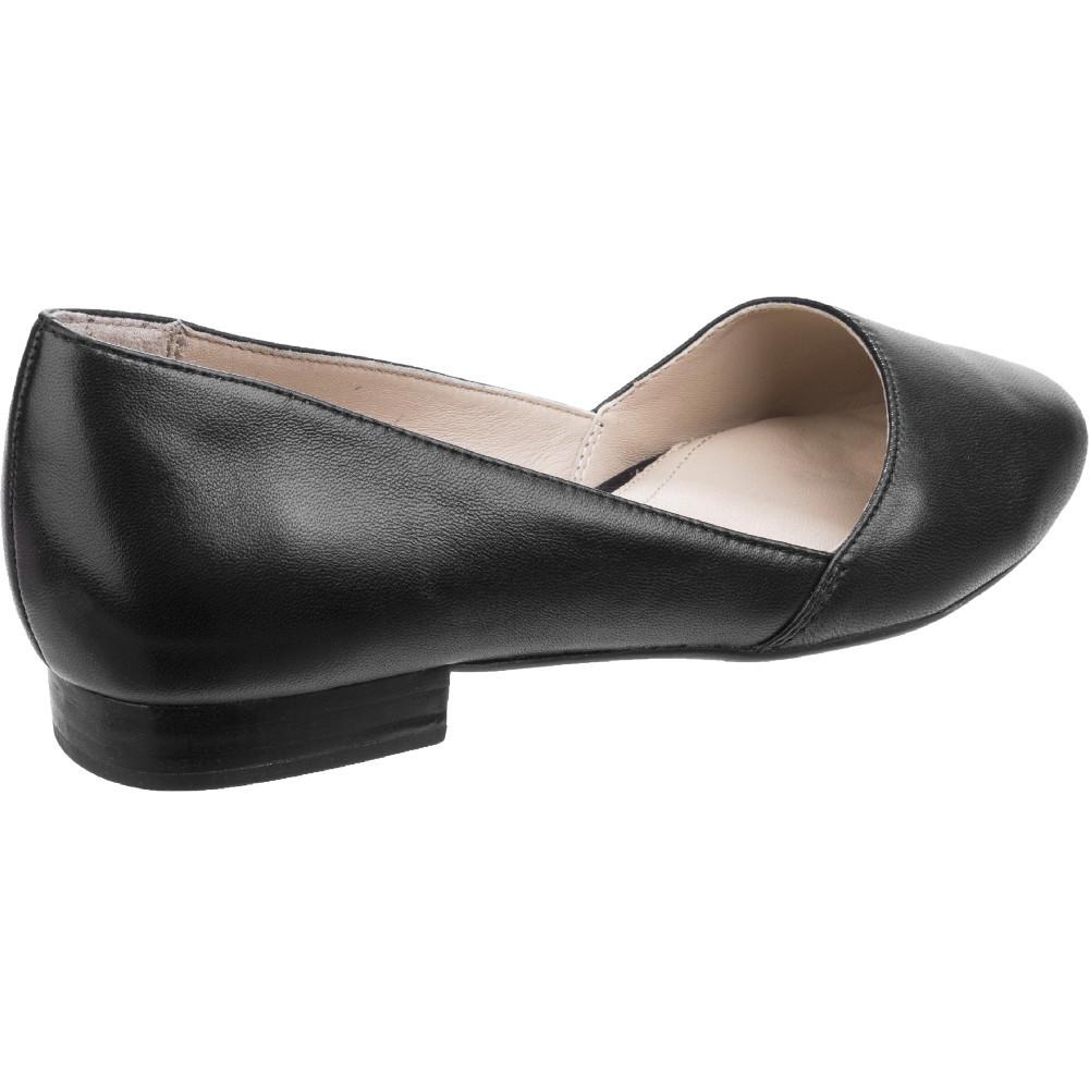 Hush Puppies Womens//Ladies Jovanna Phoebe Slip-on Leather Shoes