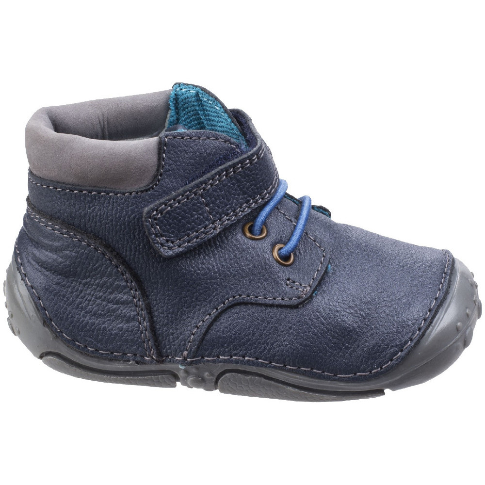 Hush Puppies Boys Noah Toddler Adjustable Pre-Walkers Bootsie Shoes xnjy3b0