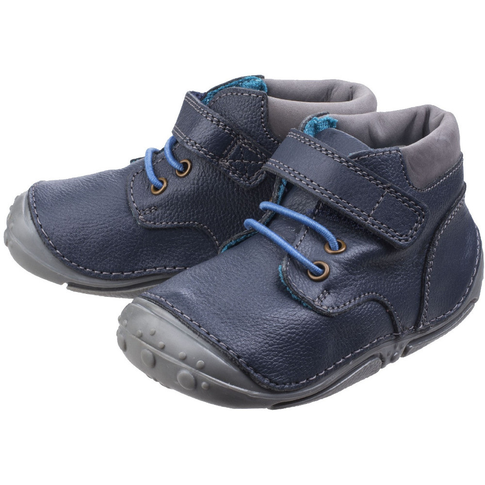 Hush Puppies Boys Noah Toddler Adjustable Pre-Walkers Bootsie Shoes ... c86afb1dbf901