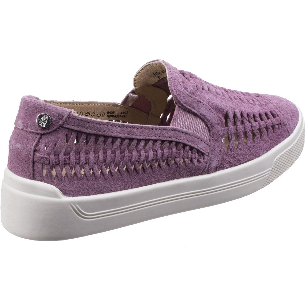 Hush-Puppies-Womens-Ladies-Gabbie-Casual-Woven-Suede-Slip-On-Shoe thumbnail 11