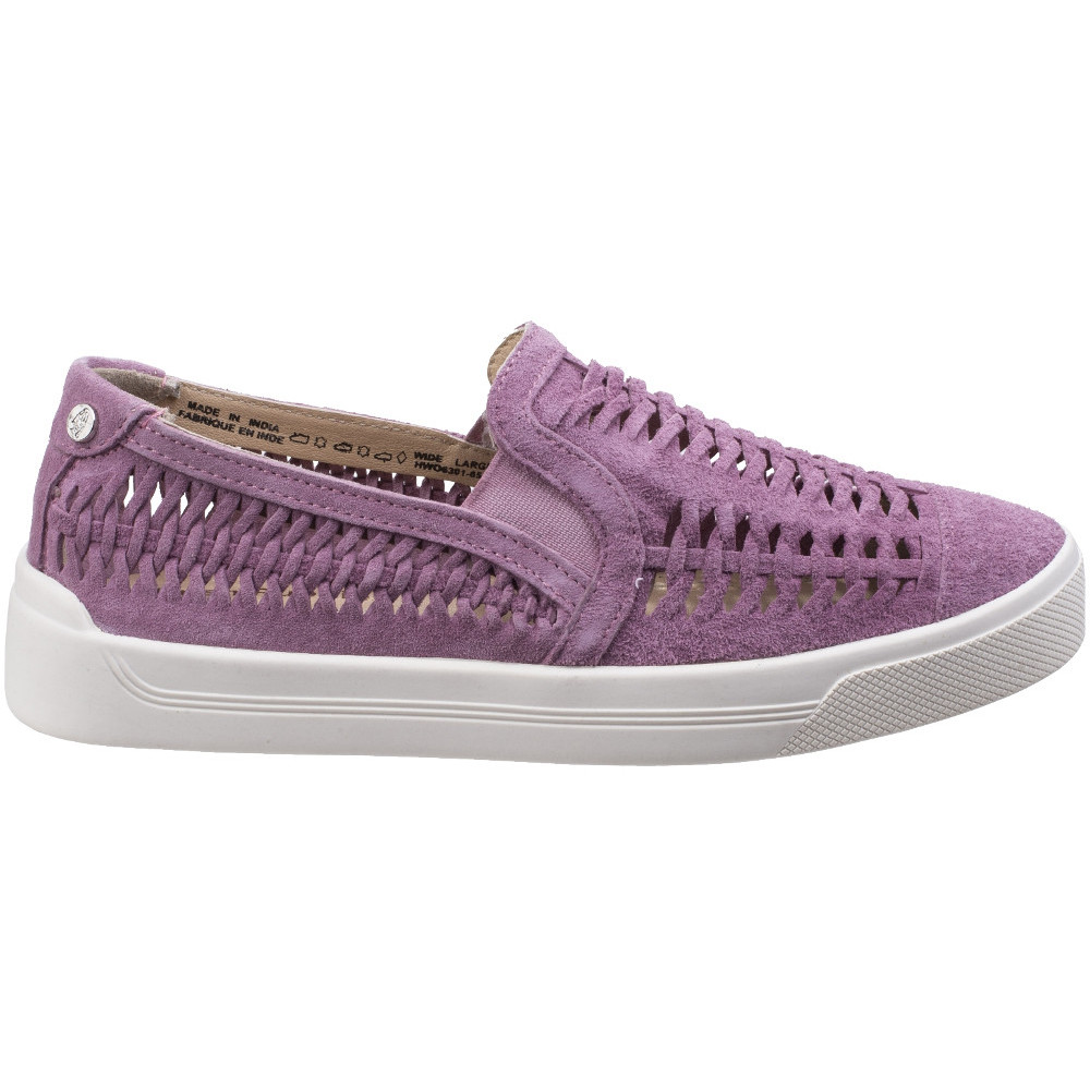 Hush-Puppies-Womens-Ladies-Gabbie-Casual-Woven-Suede-Slip-On-Shoe thumbnail 12