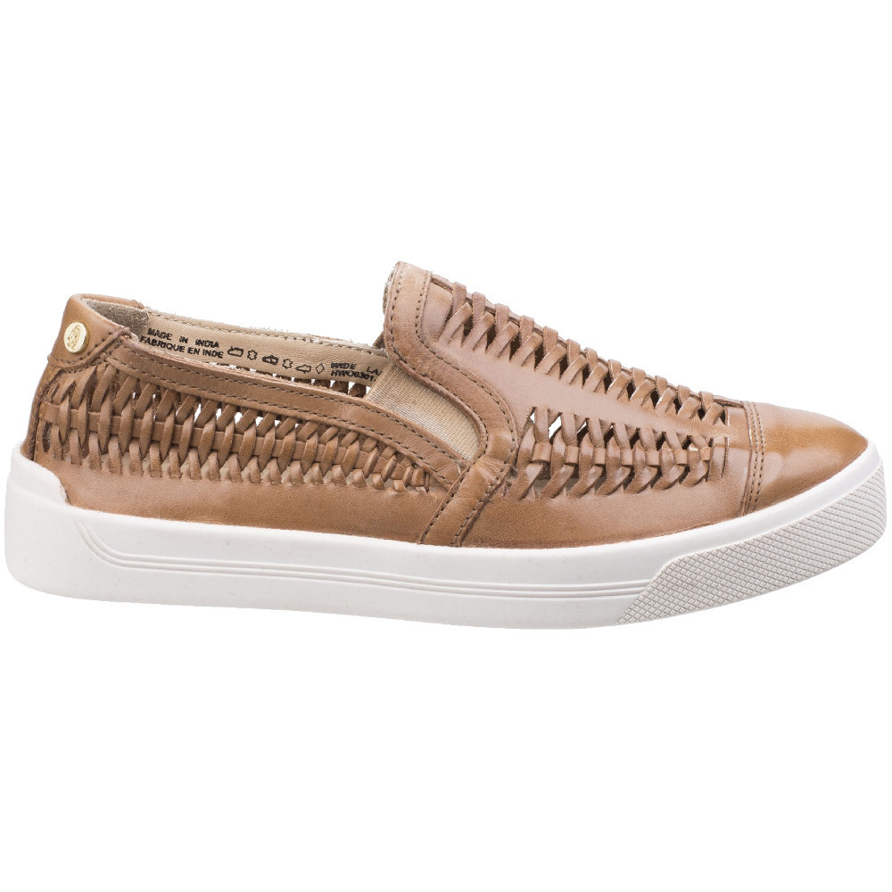 Hush-Puppies-Womens-Ladies-Gabbie-Casual-Woven-Suede-Slip-On-Shoe thumbnail 7