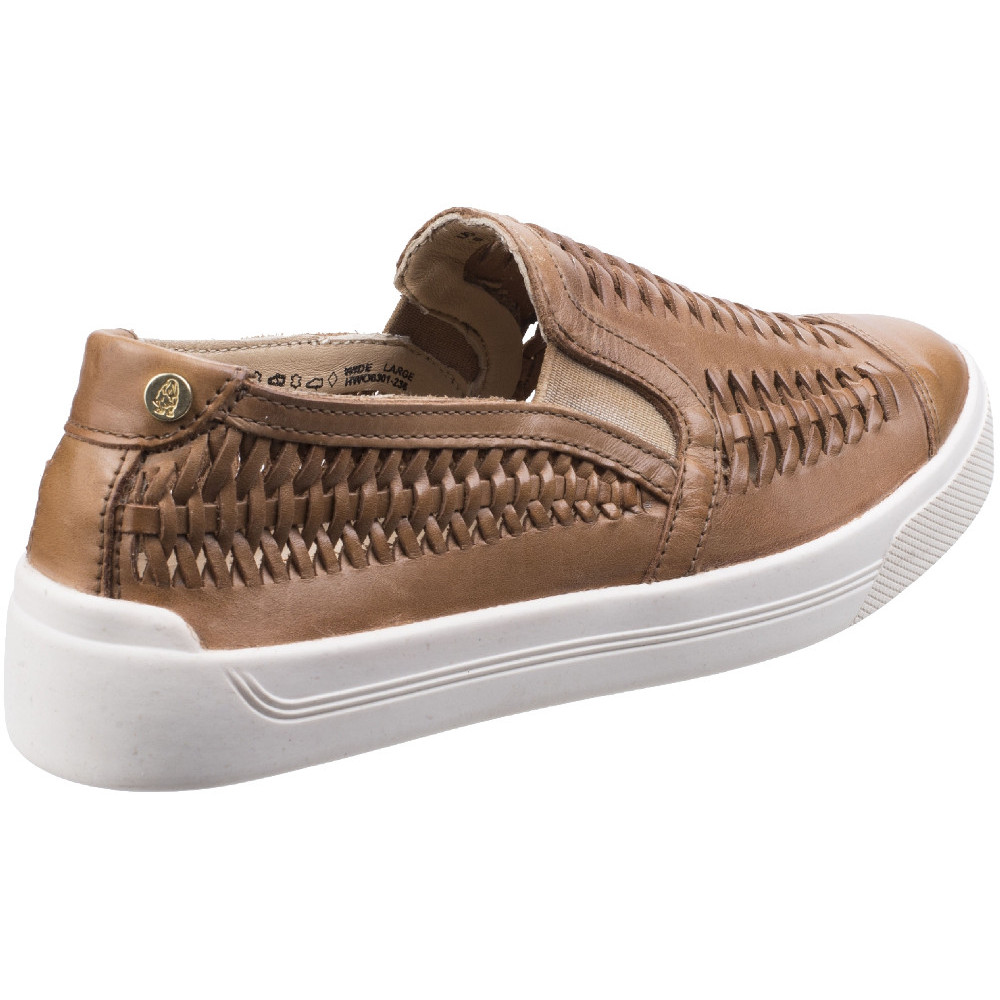 Hush-Puppies-Womens-Ladies-Gabbie-Casual-Woven-Suede-Slip-On-Shoe thumbnail 8