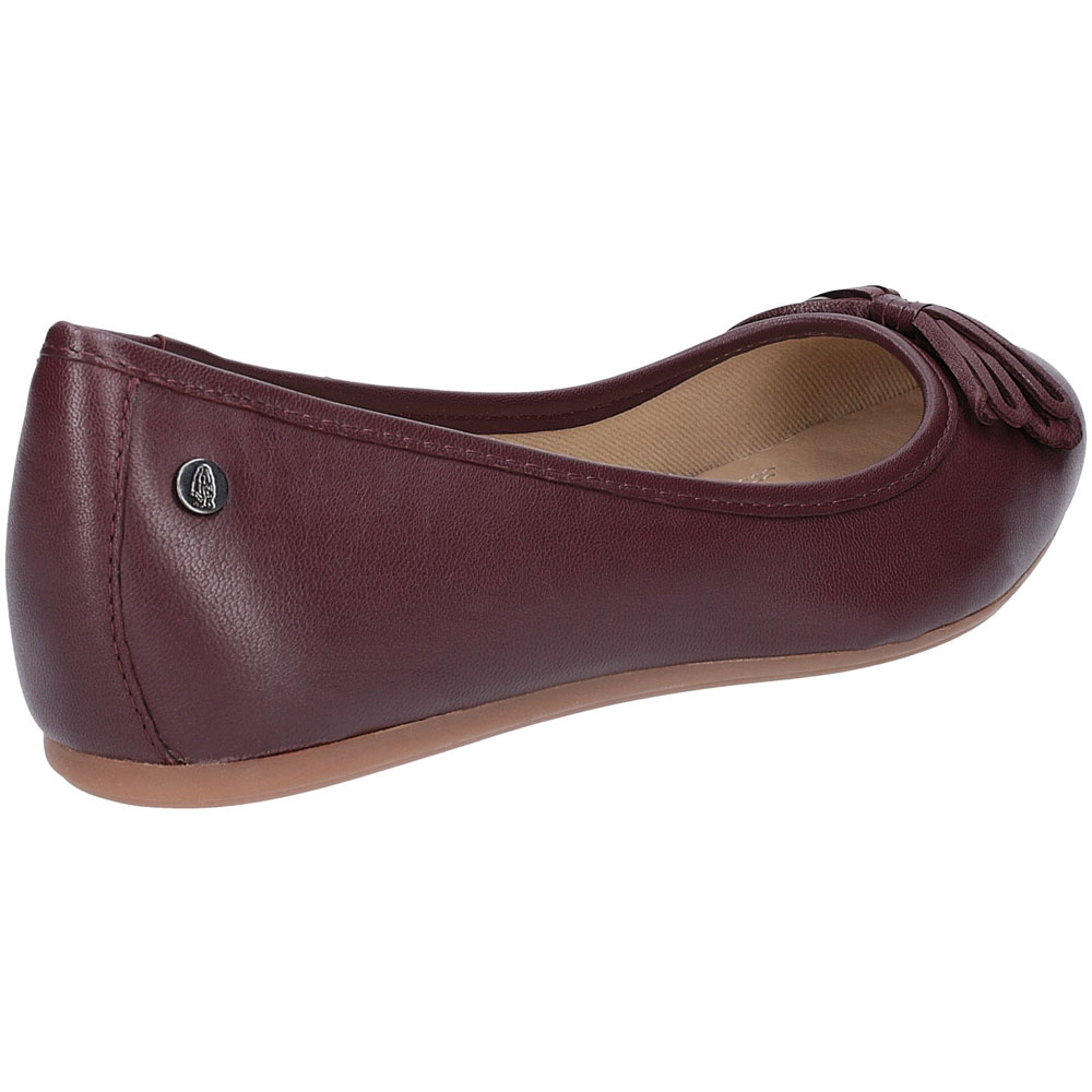 Leather About Flat Heather Bow Details Womens Ballet Puppies Shoes Hush Yb7gf6y