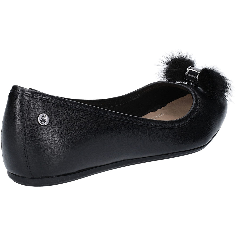Hush-Puppies-Womens-Heather-Puff-Flat-Leather-Ballet-Shoes thumbnail 10