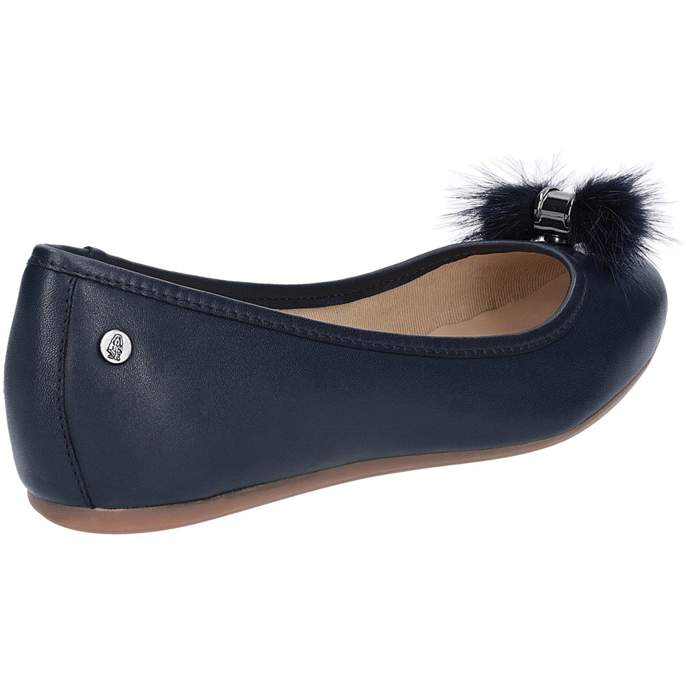 Hush-Puppies-Womens-Heather-Puff-Flat-Leather-Ballet-Shoes thumbnail 14