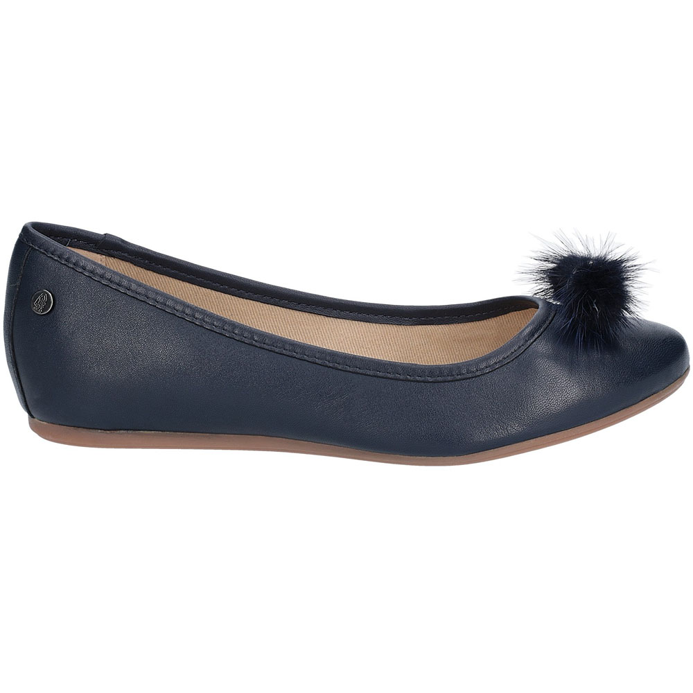 Hush-Puppies-Womens-Heather-Puff-Flat-Leather-Ballet-Shoes thumbnail 15