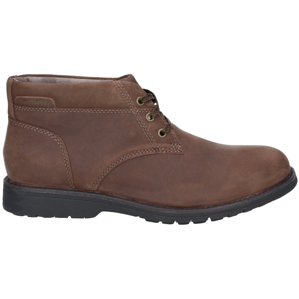 Hush Puppies Mens Beauceron Plain Toe Lace Up Up Up Chukka Stiefel  d276ab