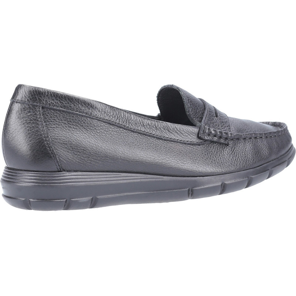 Hush-Puppies-Womens-Paige-Slip-On-Leather-Loafer-Shoes thumbnail 14