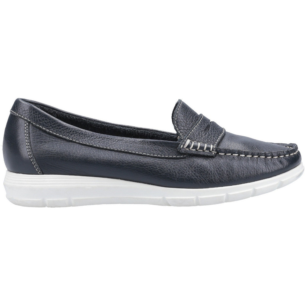 Hush-Puppies-Womens-Paige-Slip-On-Leather-Loafer-Shoes thumbnail 17