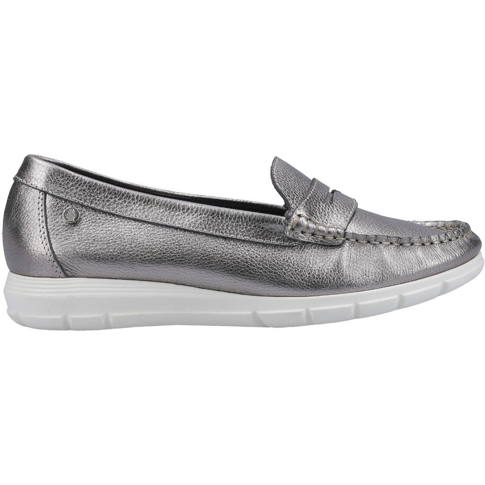 Hush-Puppies-Womens-Paige-Slip-On-Leather-Loafer-Shoes thumbnail 21