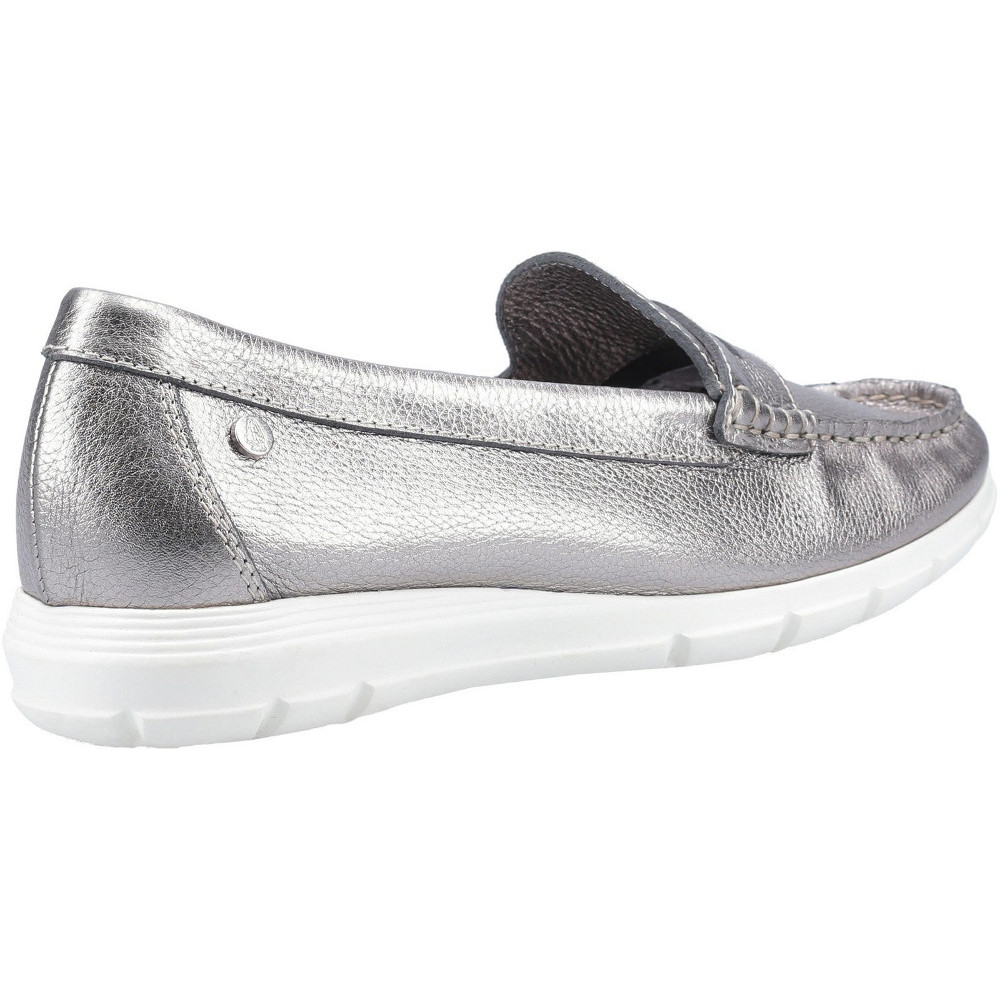 Hush-Puppies-Womens-Paige-Slip-On-Leather-Loafer-Shoes thumbnail 22