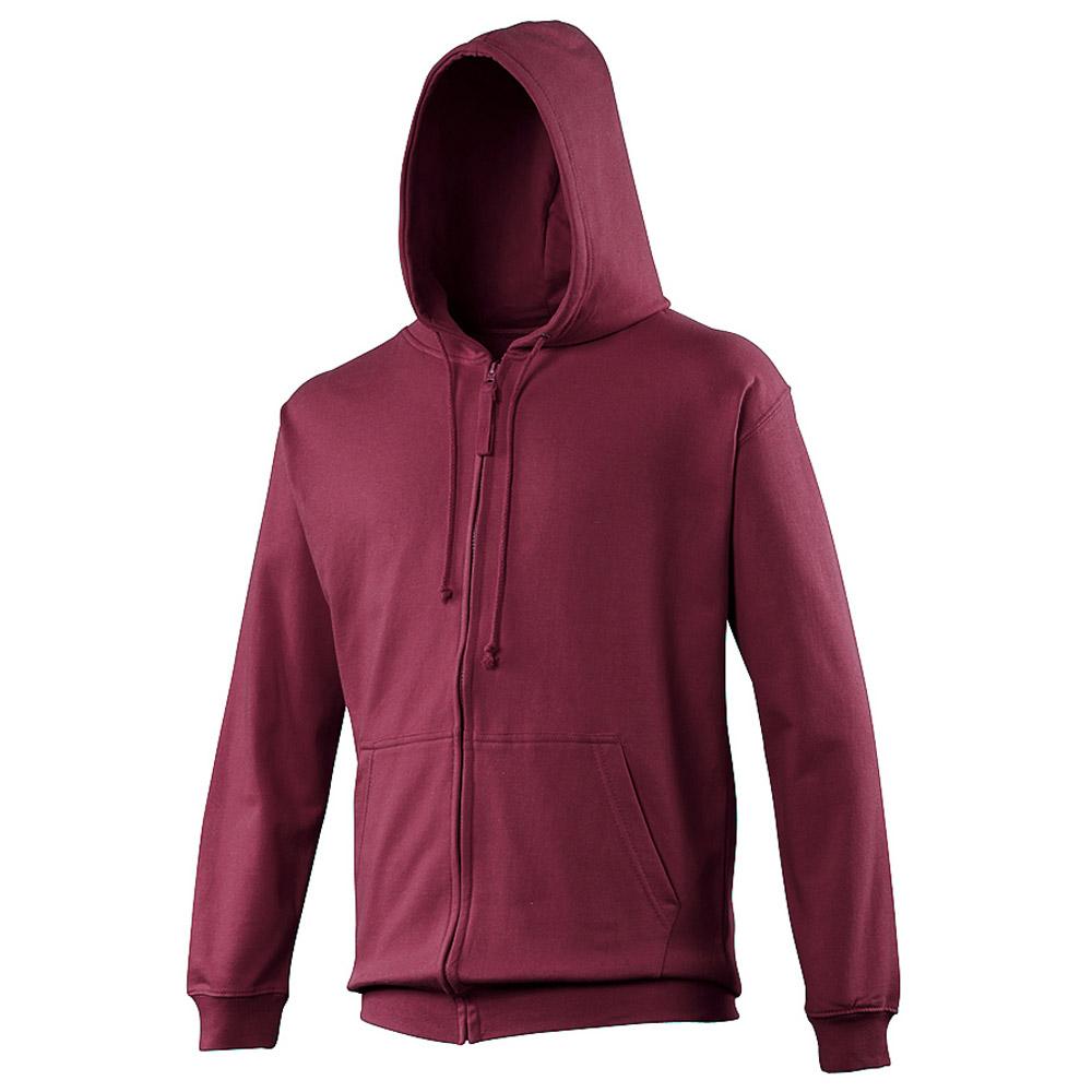 Awdis Mens Colours Zoodie Full Zip Chunky Hooded Jacket Smlxlxxl Kangaroo 2 Colors Kingdom Mesenger Bag M L Xl
