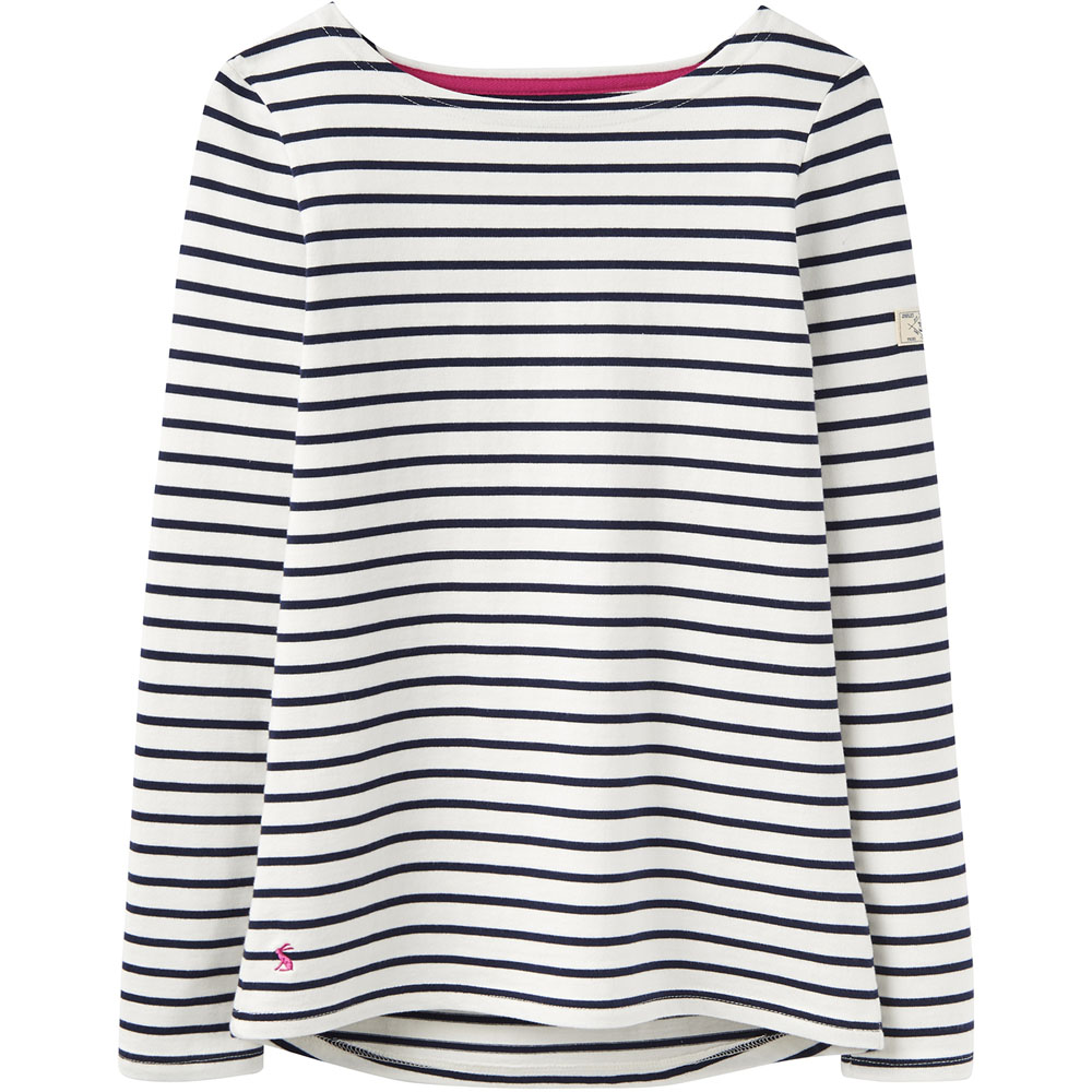 Joules Womens//Ladies Z Harbour Breathable Long Sleeve Jersey T Shirt