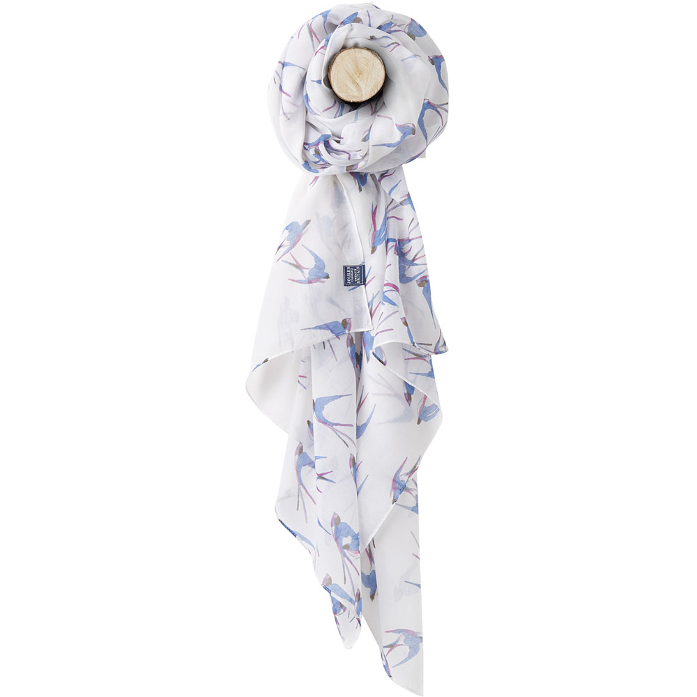 Joules Womens//Ladies Z Wensley Printed Lightweight Polyester Scarf