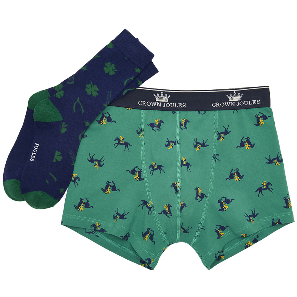 Joules Mens Sock Gift Set Put A Sock In It Boxer Shorts And Sock Set ...