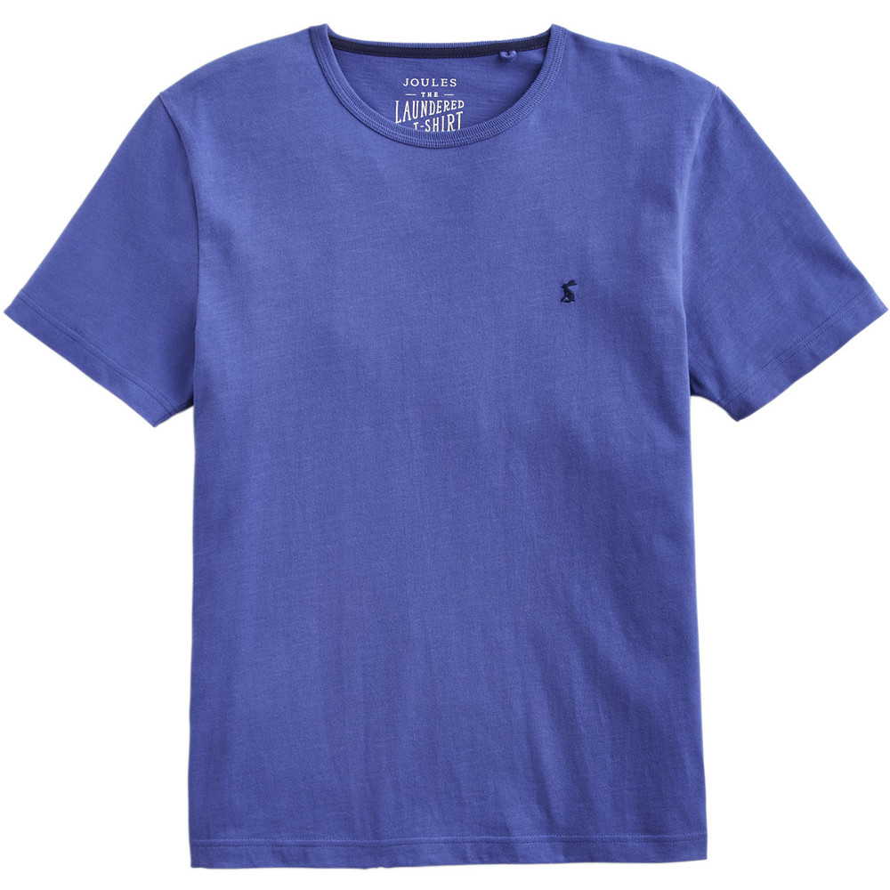 Joules Mens Laundered Crew Neck Short Sleeve Casual T Shirt
