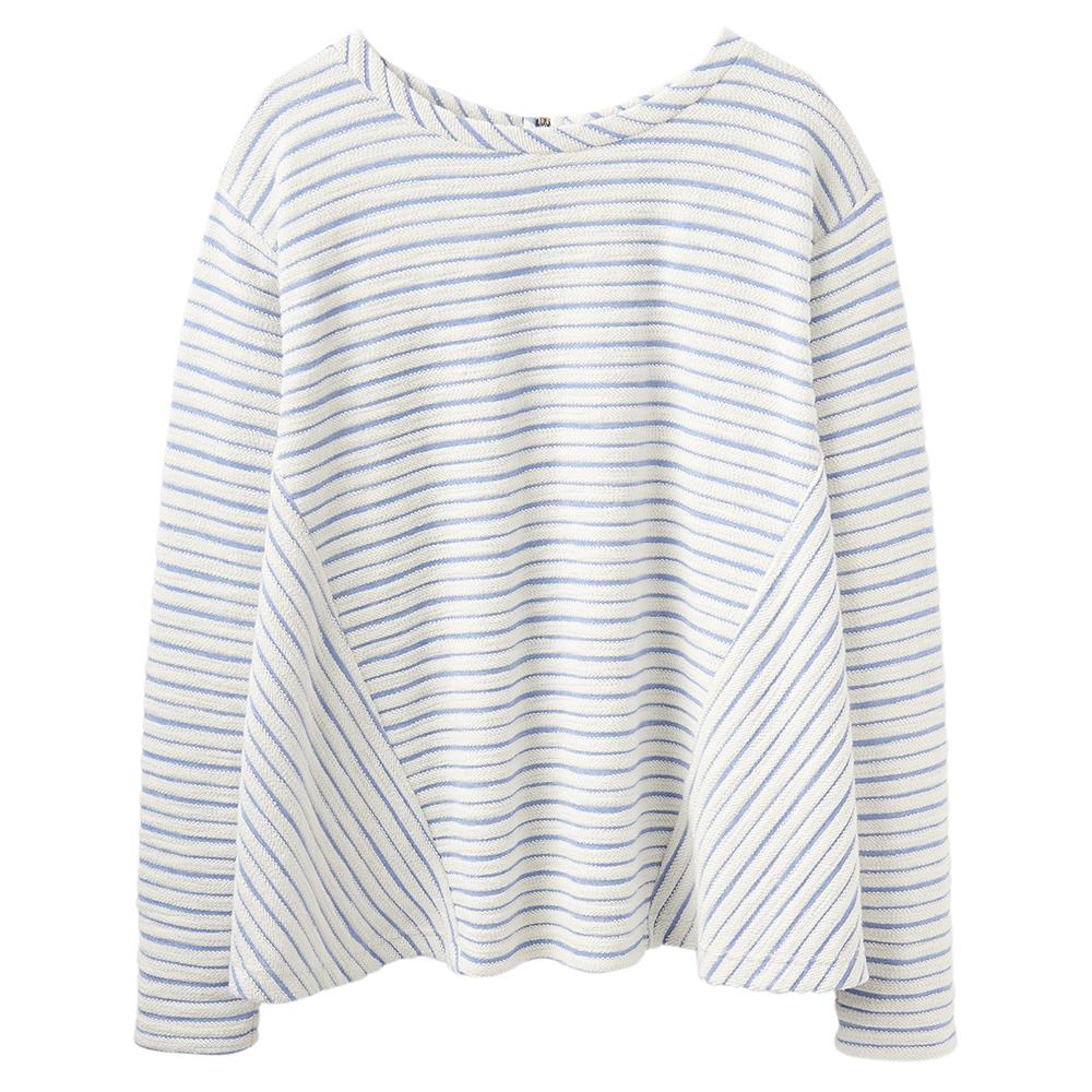 Joules Womens Selena Contrast Zip Detail Casual Sweatshirt
