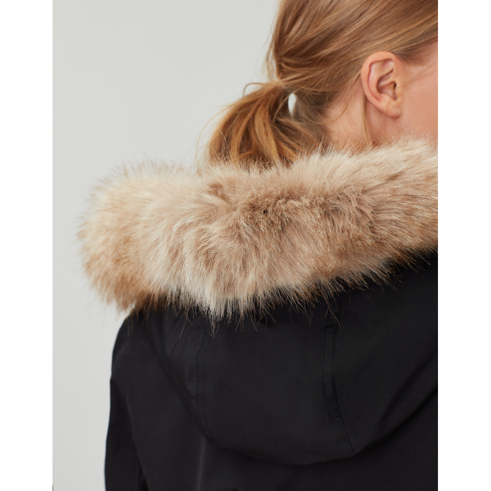 Joules-Womens-Kempton-Hooded-Drop-Tail-Parka-Coat-Jacket miniatuur 24