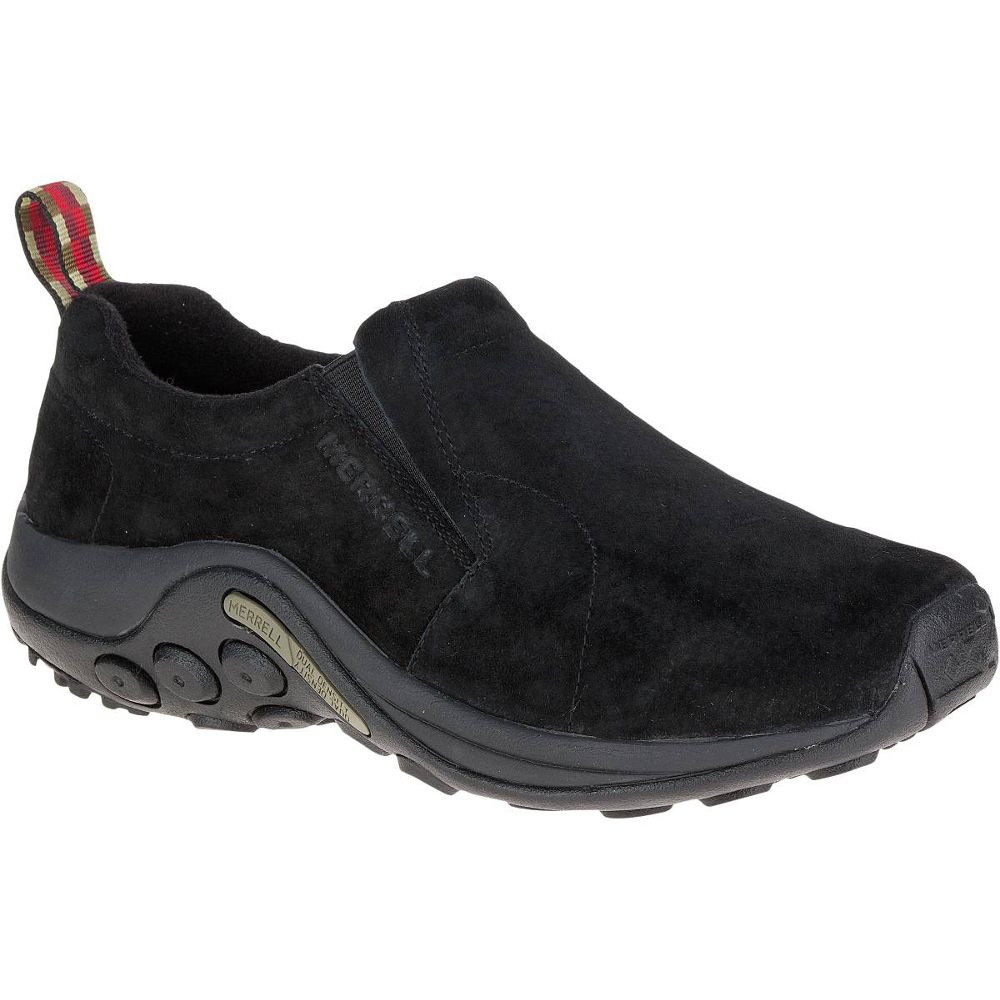 Merrell Men Leather Shoes Black