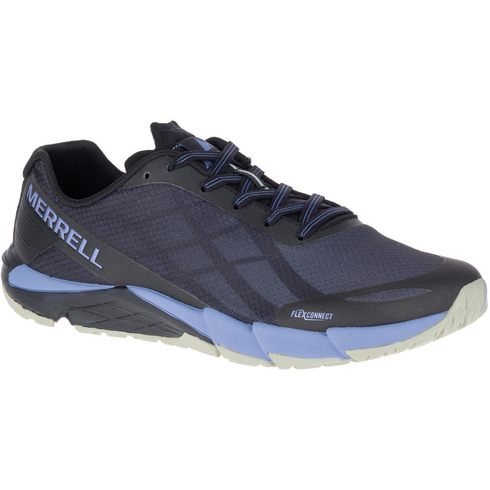 Merrell Bare Access 5 Womens Blue Trail Running Road Sports Shoes Trainers  7.5. About this product. Picture 1 of 2; Picture 2 of 2