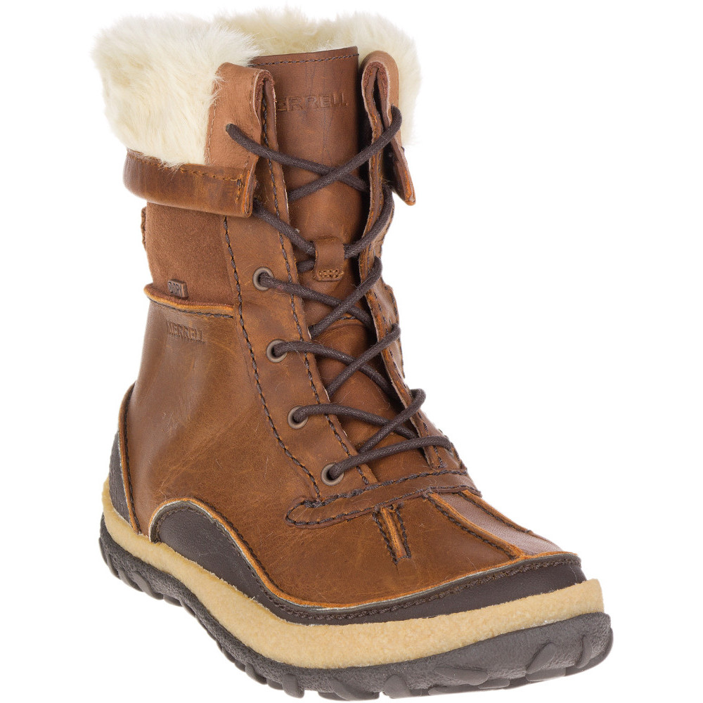 4398a74434 Merrell Womens/Ladies Tremblant Mid Polar Lace Waterproof Winter Boots