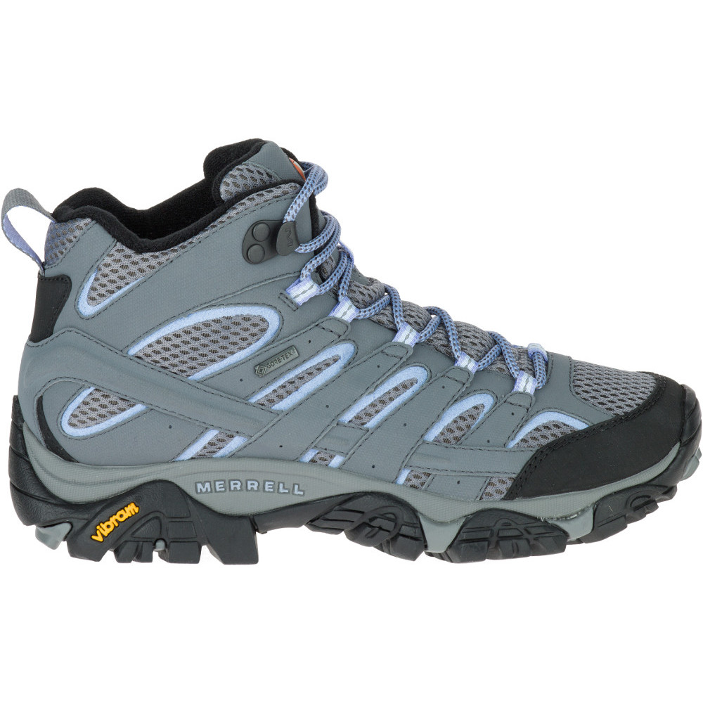 Merrell Womens/Ladies Moab 2 Mid Ankle Gore Tex Hiking Walking Boots wx2lx5y