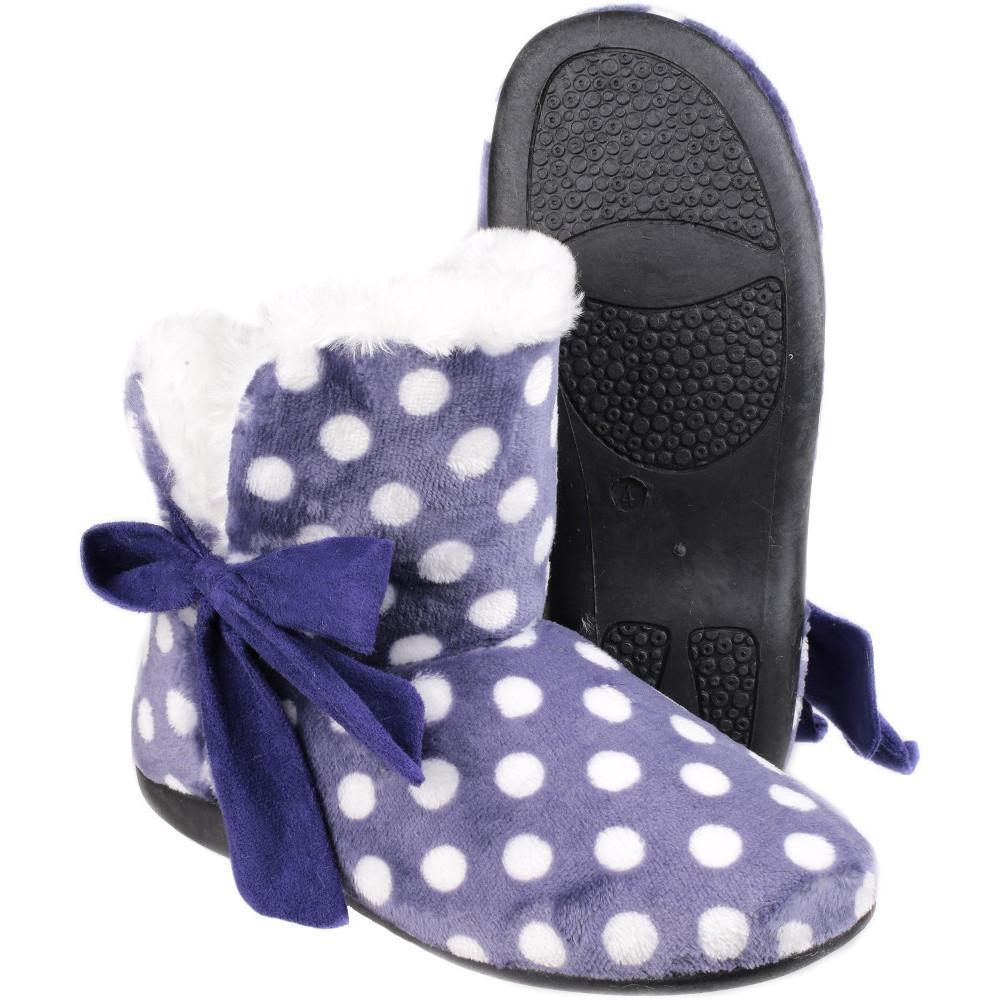 Textile Ebay Comfort Mirak Womensladies Slippers Fleece Cleremont I4wxtYZYq8