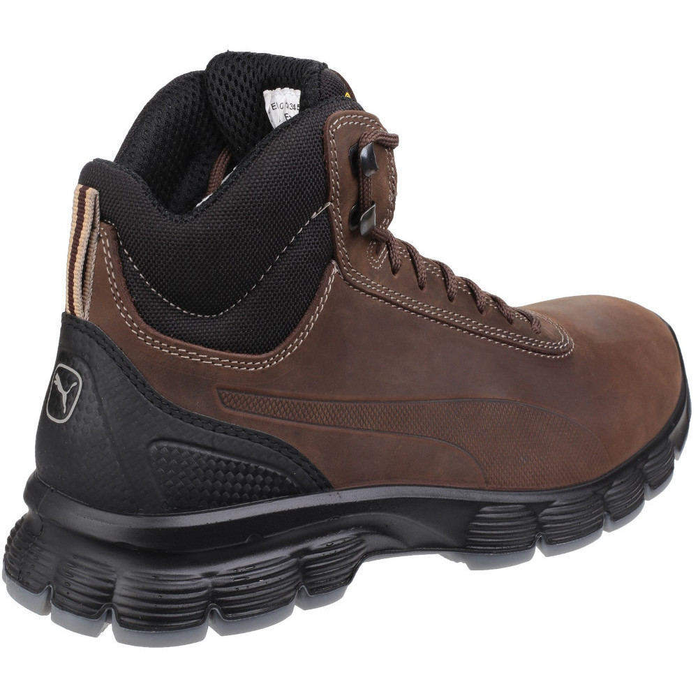 Puma Safety Footwear Mens Condor Mid Lace up Steel Toe S3 Safety Boots f76e7d23d