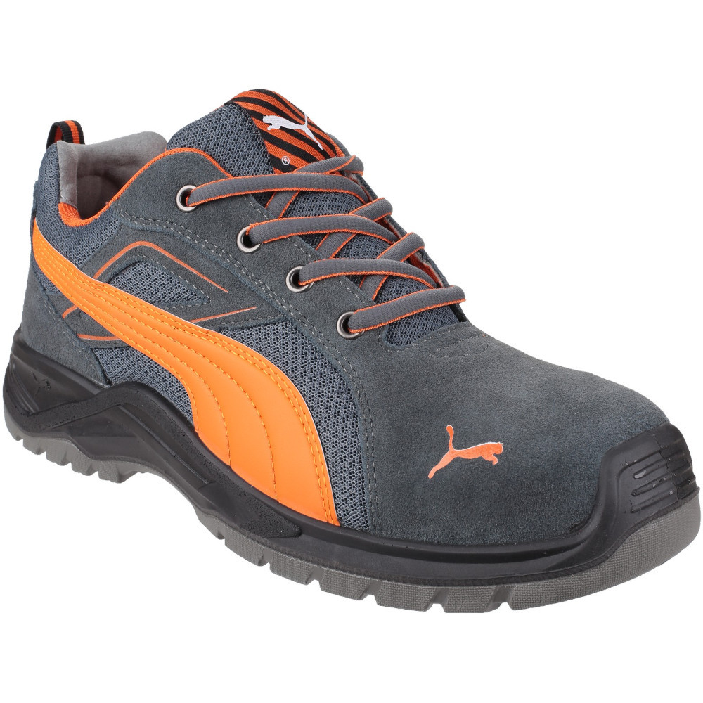 Details about Puma Safety Footwear Mens Omni Flash Low Lace Up S1 Safety Sneakers